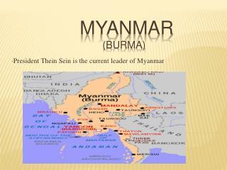 Myanmar ( burma )