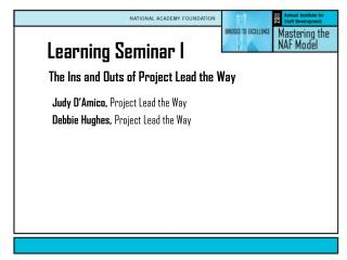 The Ins and Outs of Project Lead the Way