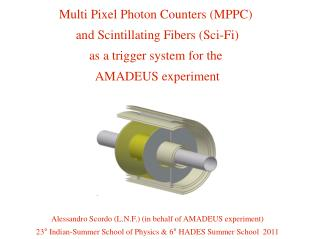 Multi Pixel Photon Counters (MPPC)  and Scintillating Fibers (Sci-Fi) as a trigger system for the