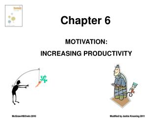 MOTIVATION: INCREASING PRODUCTIVITY