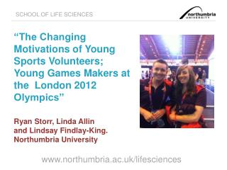PhD Study: Young Sports Volunteers
