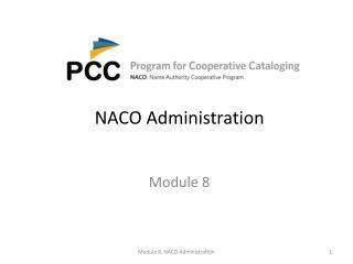 NACO Administration