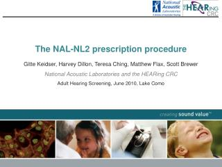 The NAL-NL2 prescription procedure