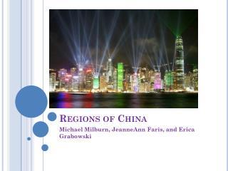 Regions of China