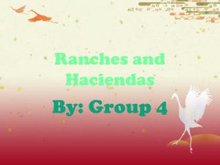 Ranches and Haciendas