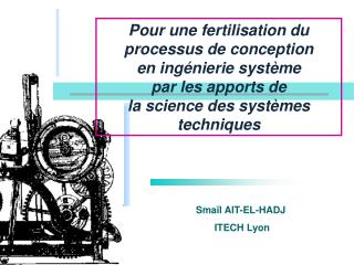 Smaïl  AIT-EL-HADJ    ITECH Lyon