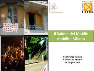 Il Salone del Mobile  mobilita  Milano