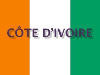 C ô te d'Ivoire