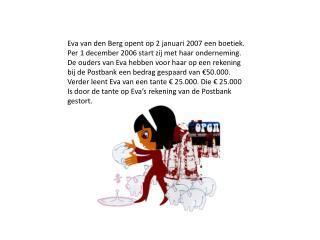 Eva van den Berg opent op 2 januari 2007 een boetiek.