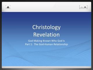 Christology Revelation