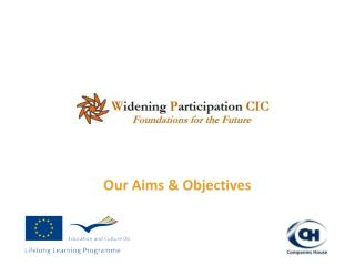 Our Aims & Objectives