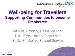 Well-being for Travellers Supporting Communities to become Smokefree