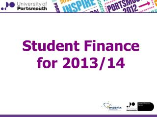 Student Finance for 2013/14