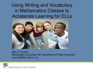 Using Writing and Vocabulary in Mathematics Classes to Accelerate Learning for ELLs