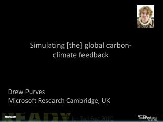 Simulating  [the]  global carbon-climate feedback