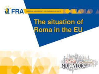 The situation  of  Roma in  the EU