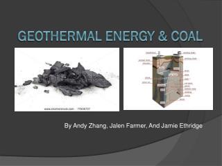 Geothermal Energy & Coal