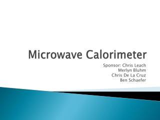 Microwave Calorimeter