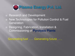 Plasma  Energy Pvt. Ltd.