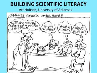 BUILDING SCIENTIFIC LITERACY