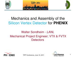 Mechanics and Assembly of the  Silicon Vertex Detector  for  PHENIX