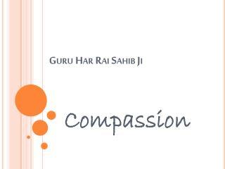 Guru  Har Rai  Sahib  Ji