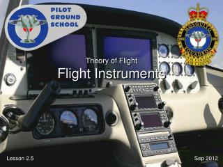 Theory of Flight Flight Instruments