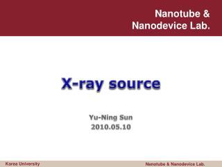 X-ray source
