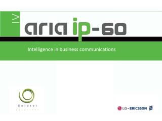 Intelligence in business communications