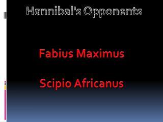 Fabius Maximus Scipio Africanus