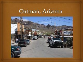 Oatman ,  Arizona