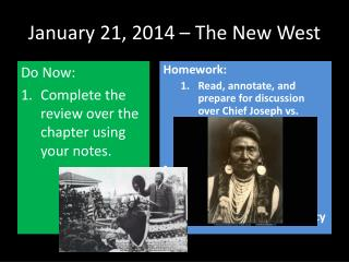 January 21, 2014 – The New West