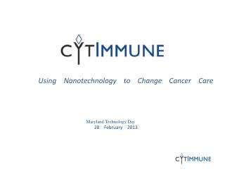 Using   �Nanotechnology   �to   �Change   �Cancer   �Care