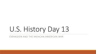 U.S. History Day 13