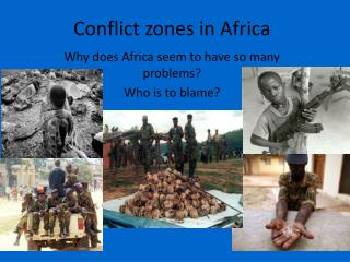 Conflict zones in Africa