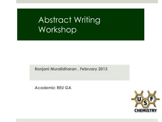 Abstract Writing Workshop