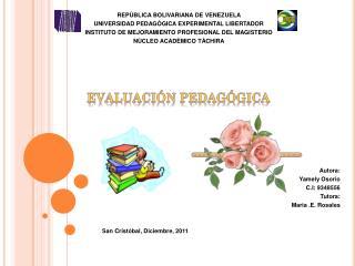 REPÙBLICA BOLIVARIANA DE VENEZUELA                  UNIVERSIDAD PEDAGÒGICA EXPERIMENTAL LIBERTADOR