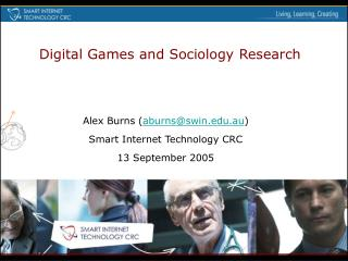 Digital Games: Sociology Research