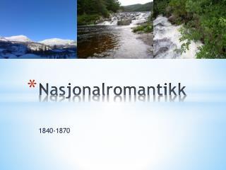 Nasjonalromantikk