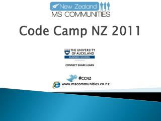 Code Camp NZ 2011