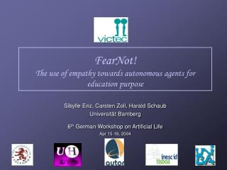 FearNot The use of empathy towards autonomous agents for education purpose