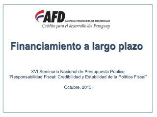 XVI Seminario Nacional de Presupuesto Público