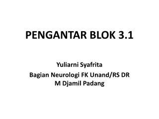 PENGANTAR BLOK 3.1