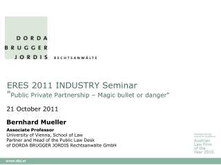ERES 2011 INDUSTRY Seminar