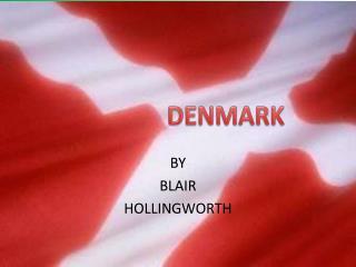 BY BLAIR HOLLINGWORTH