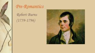 Pre-Romantics