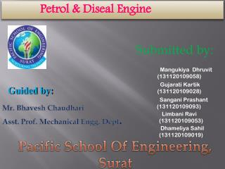 Petrol & Diseal Engine
