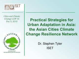 Dr. Stephen Tyler ISET