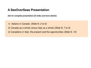 Italiani in Canada