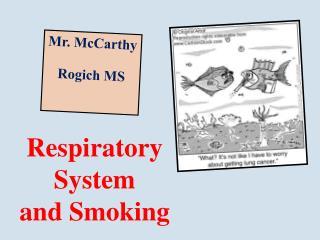Respiratory System and Smoking